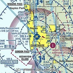 Airports In Florida Map.Airnav Kapf Naples Municipal Airport