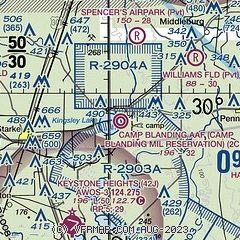Camp Blanding Florida Map.Airnav 2cb Camp Blanding Army Airfield National Guard Airport