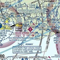 Ocean Springs Ms Zip Code Map.Airnav 5r2 Ocean Springs Airport