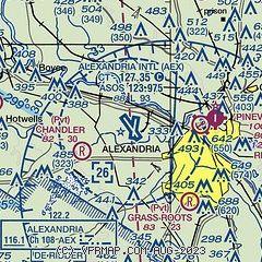 Alexandria Louisiana Zip Code Map.Airnav Kaex Alexandria International Airport