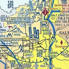 Salt Lake City Time Zone Map.Airnav Kslc Salt Lake City International Airport