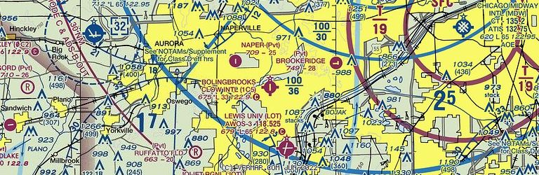 Sectional Image of Bolingbrook Clow Intl (1C5 airport)