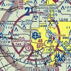 South Bend Indiana Zip Code Map.Airnav Ksbn South Bend International Airport