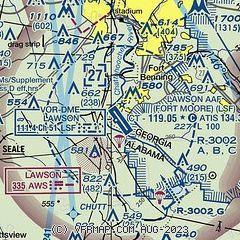 AirNav: KLSF - Lawson Army Airfield (Fort Benning)