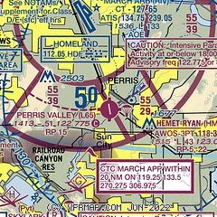 Perris Zip Code Map.Airnav L65 Perris Valley Airport