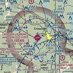 AirNav: KCSV - Crossville Memorial Airport-Whitson Field