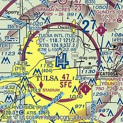 Tulsa Ok Time Zone >> Airnav Ktul Tulsa International Airport