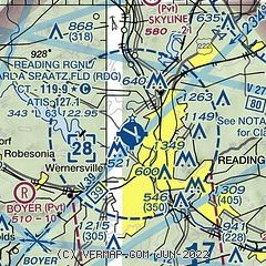 AirNav: KRDG - Reading Regional Airport/Carl A Spaatz Field