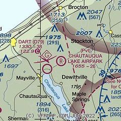 AirNav: 65NY - Chautauqua Lake Airpark