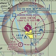 AirNav: KHON - Huron Regional Airport