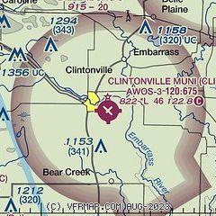 AirNav: KCLI - Clintonville Municipal Airport
