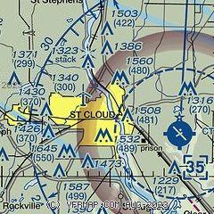 AirNav: MY87 - St Cloud Hospital Heliport on