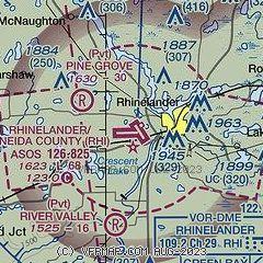 Airnav Krhi Rhinelander Oneida County Airport