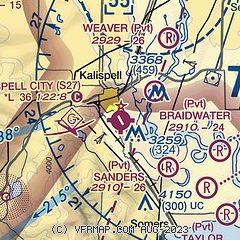 Kalispell Zip Code Map.Airnav S27 Kalispell City Airport