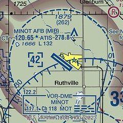 Airnav Kmib Minot Air Force Base
